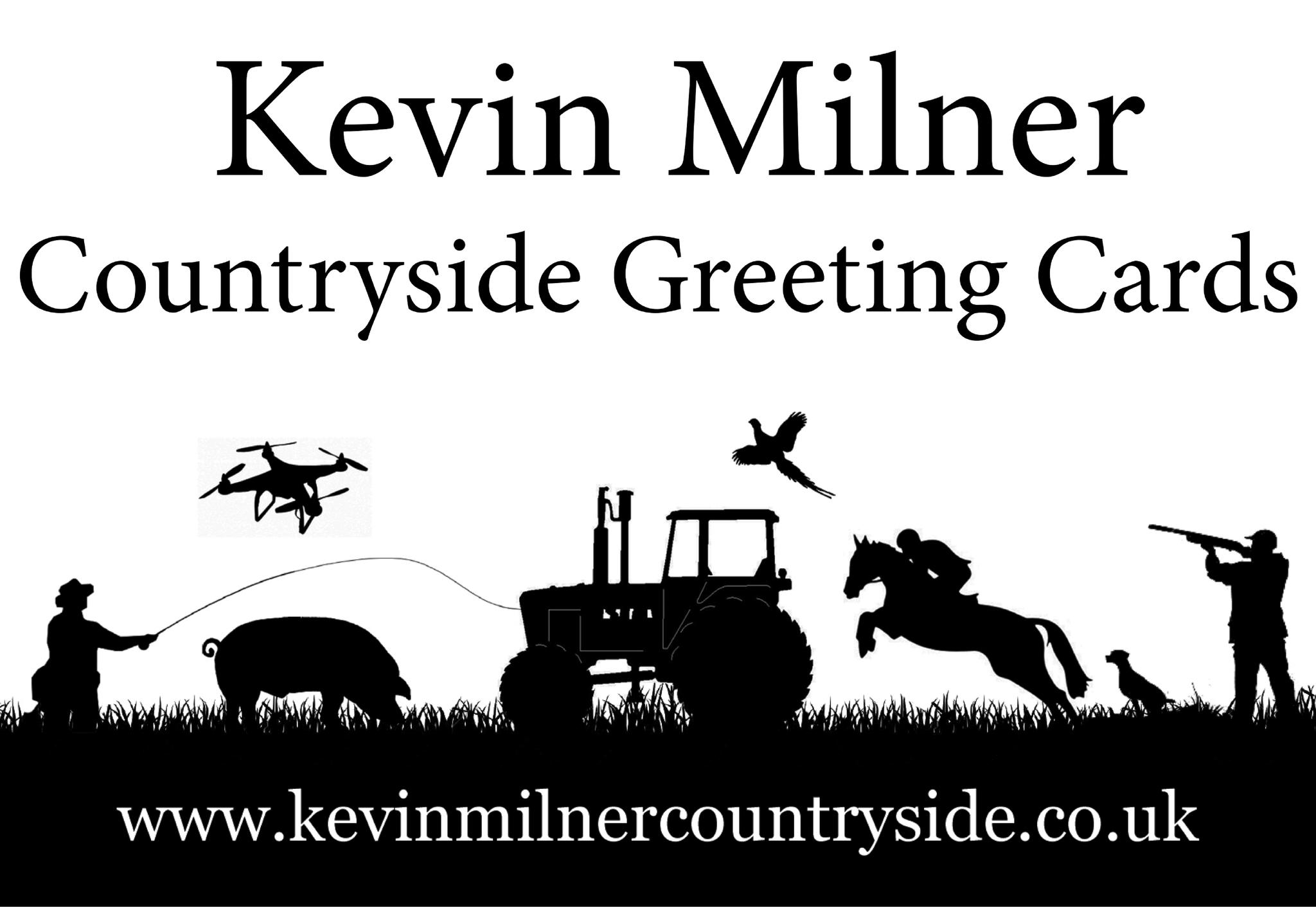 Kevin Milner Countryside Greeting Cards